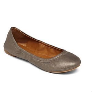 Lucky Brand LK Emmie Ballet Flats in Pewter